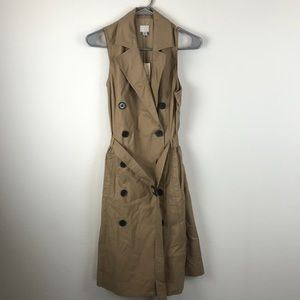 Trench coat dress, NWT, Size Small, A New Day